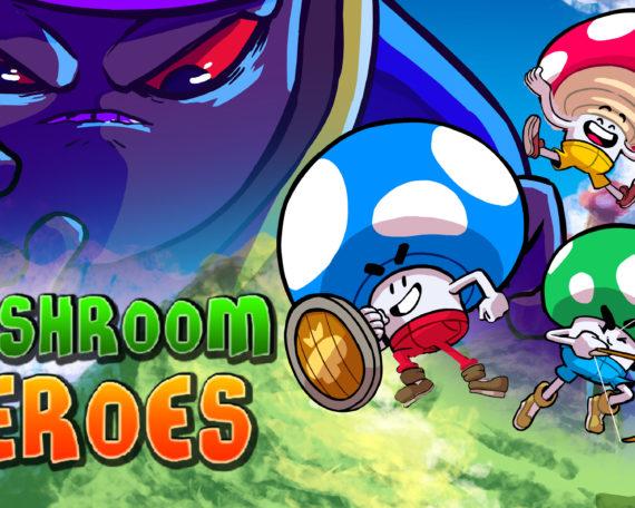 Mushroom Heroes splash